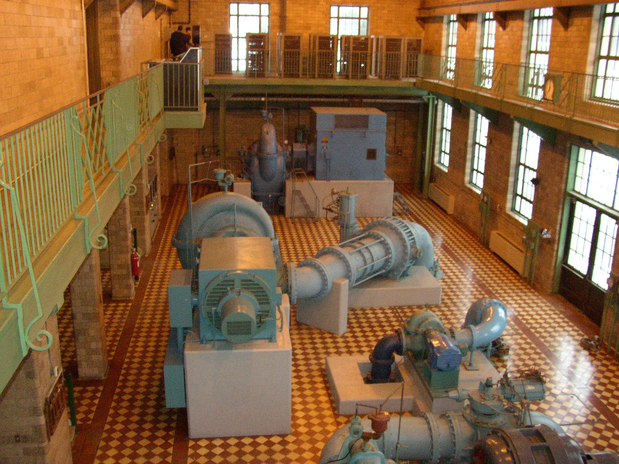 Sommerheim Water Treatment Plant, Pump Room
