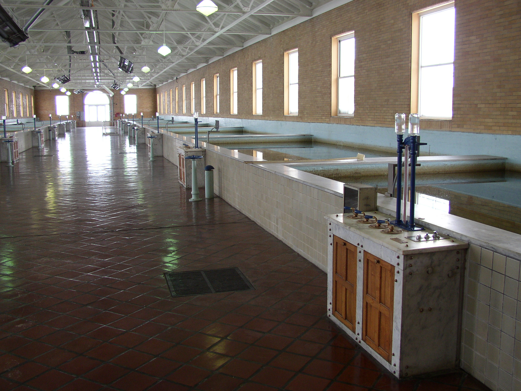 Chestnut Street Water Treatment Plant - Filter Room