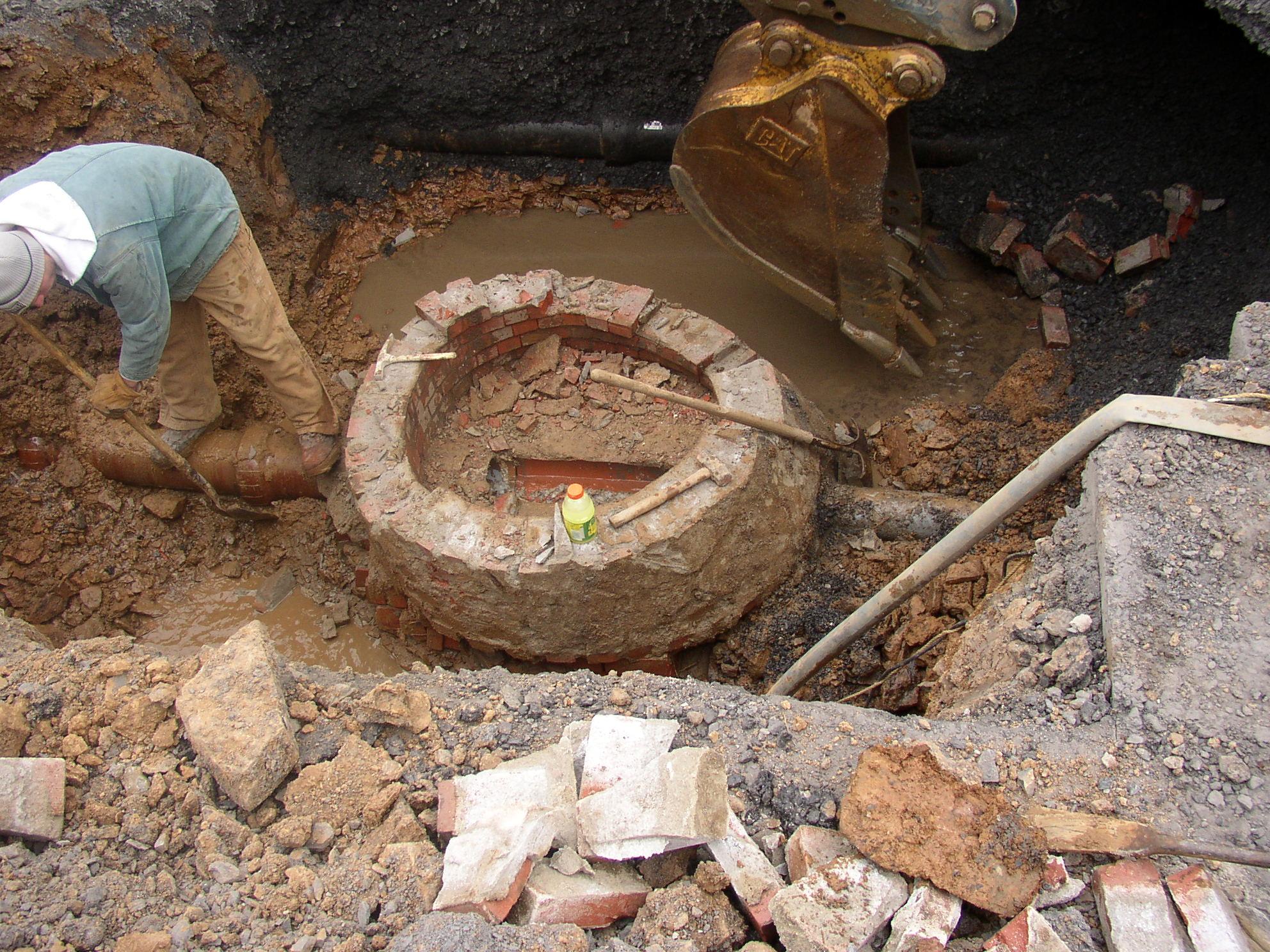 Manhole Removal