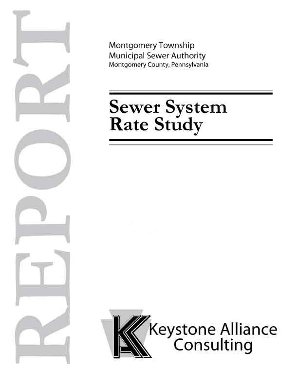 Montgomery Township Sewer System Rate Study
