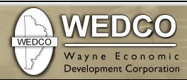 Wayne Economic Development Corporation Logo